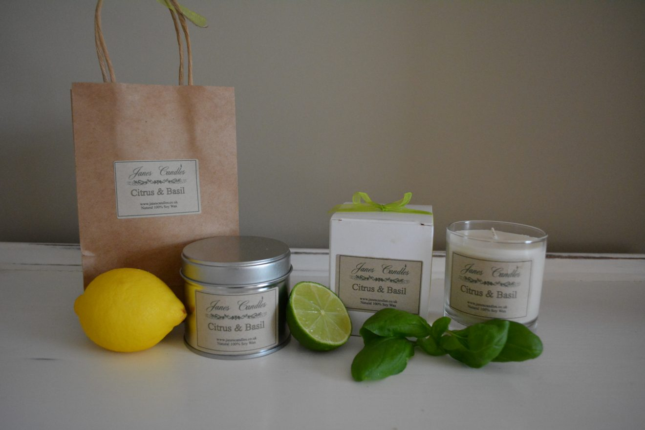 Citrus & Basil 20cl Candle