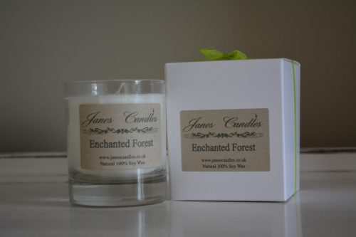 Enchanted Forest Jar Candle