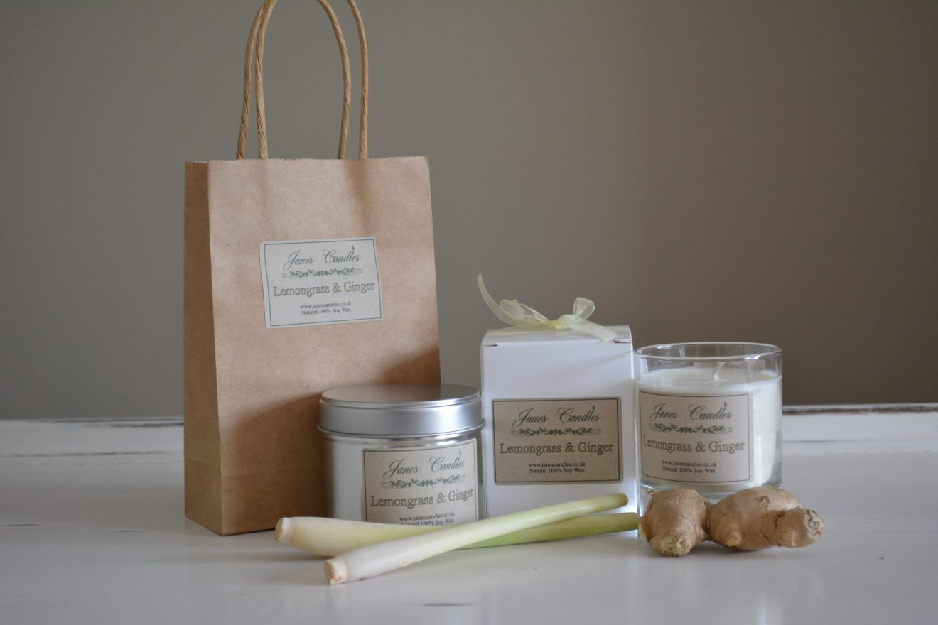 Lemongrass & Ginger Candles
