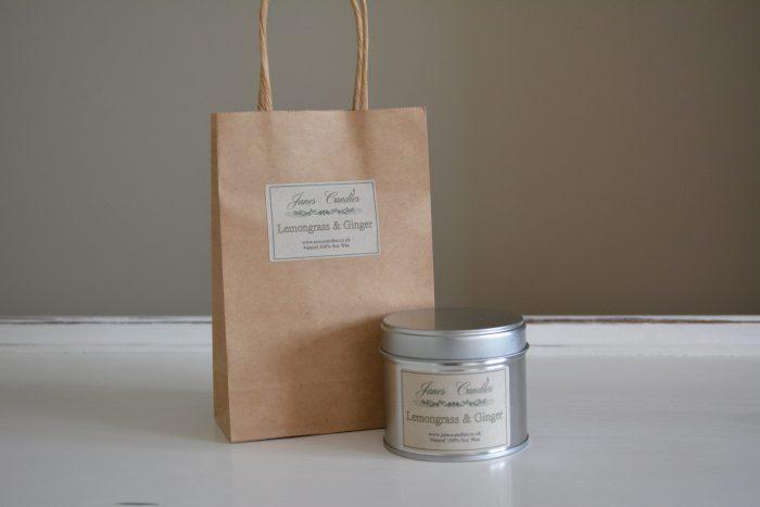 Lemongrass & Ginger Tin Candle