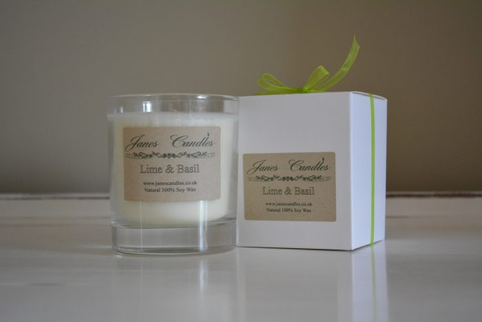 Lime & Basil Jar Candle