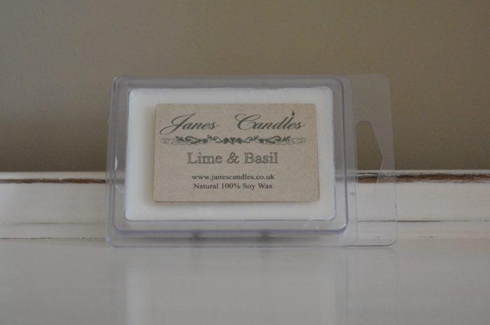 Lime & Basil Wax Melt