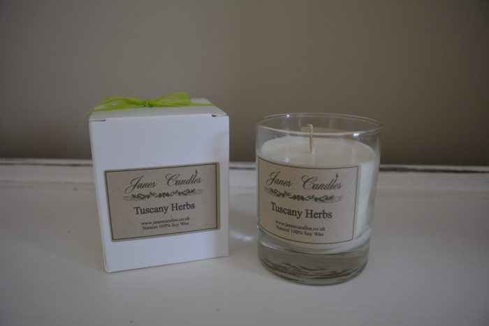 Tuscany Herb 20cl Jar Candle