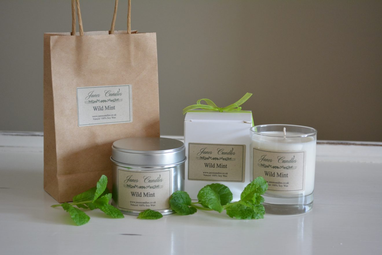 Wild Mint Candles