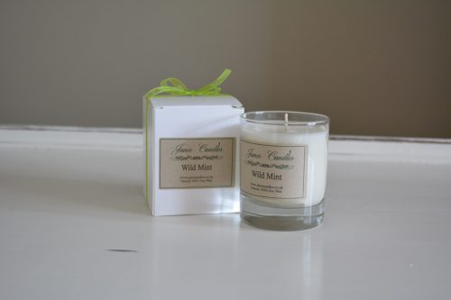 Wild Mint Jar Candle