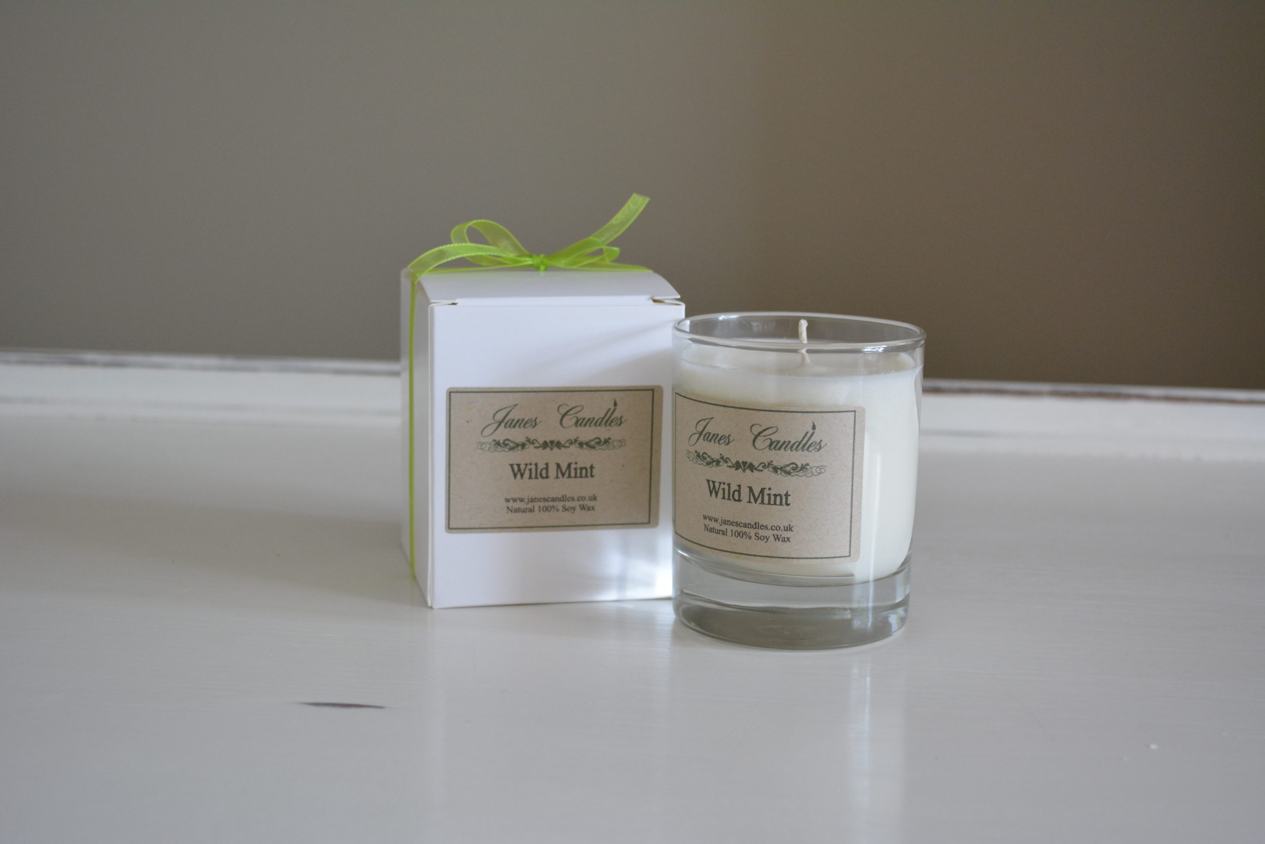 Wild Mint Jar Candle