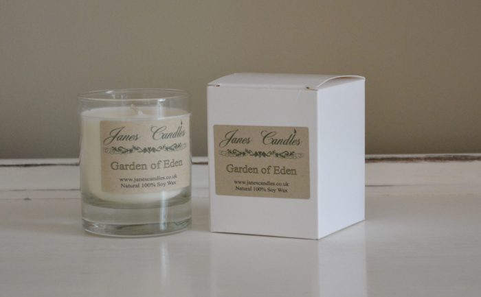 Garden of Eden Jar Candles