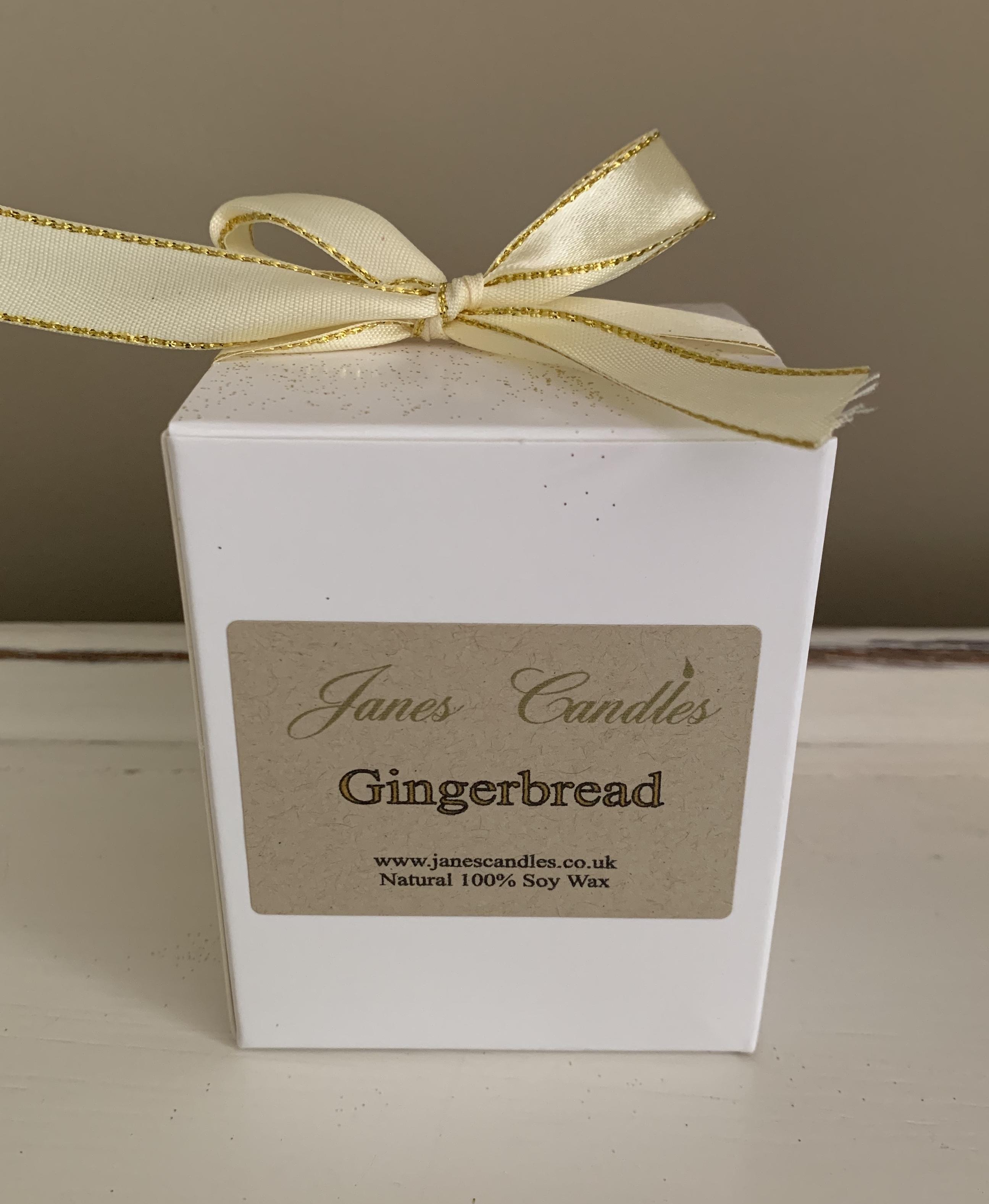 Gingerbread Jar Candle Packaging