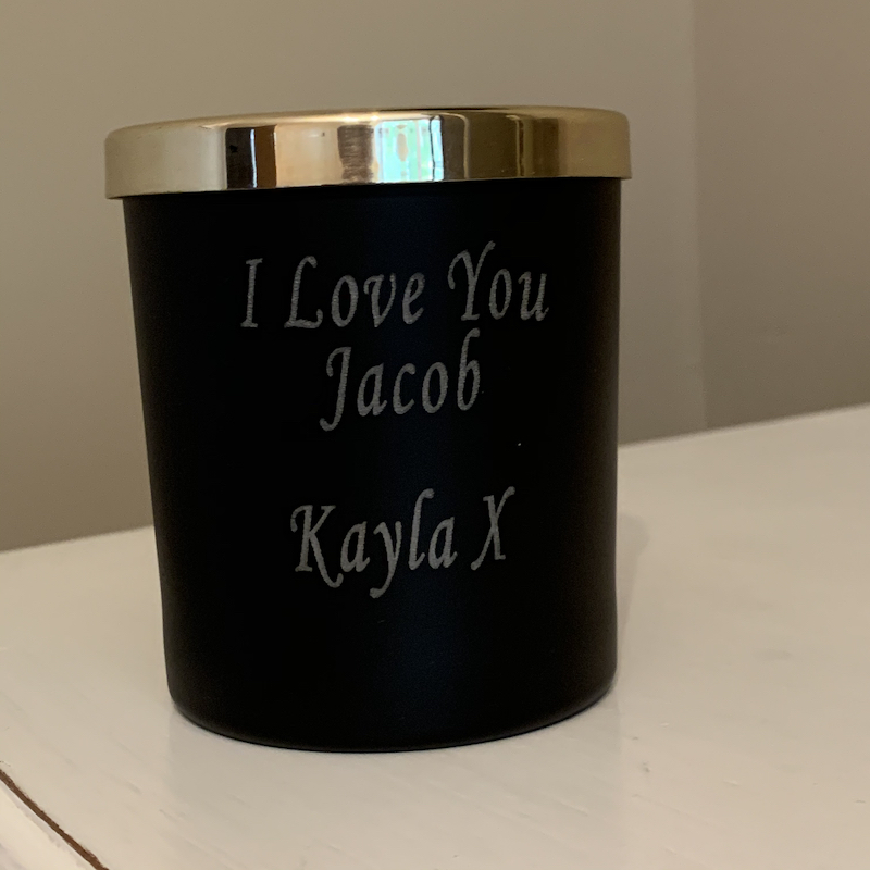 Personalised Luxury Candle