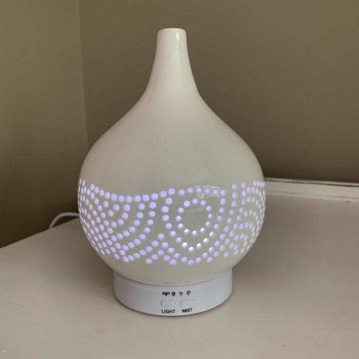 Atomiser white light