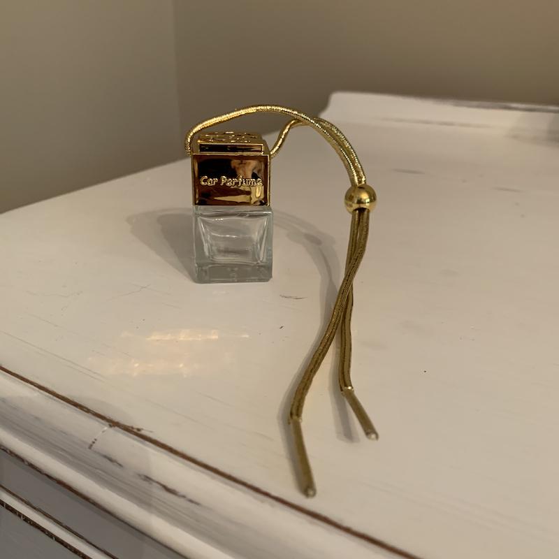 Gold car diffuser