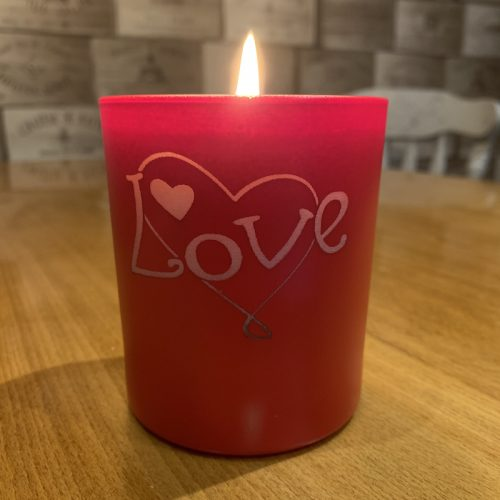 Big Love Valentine Candle