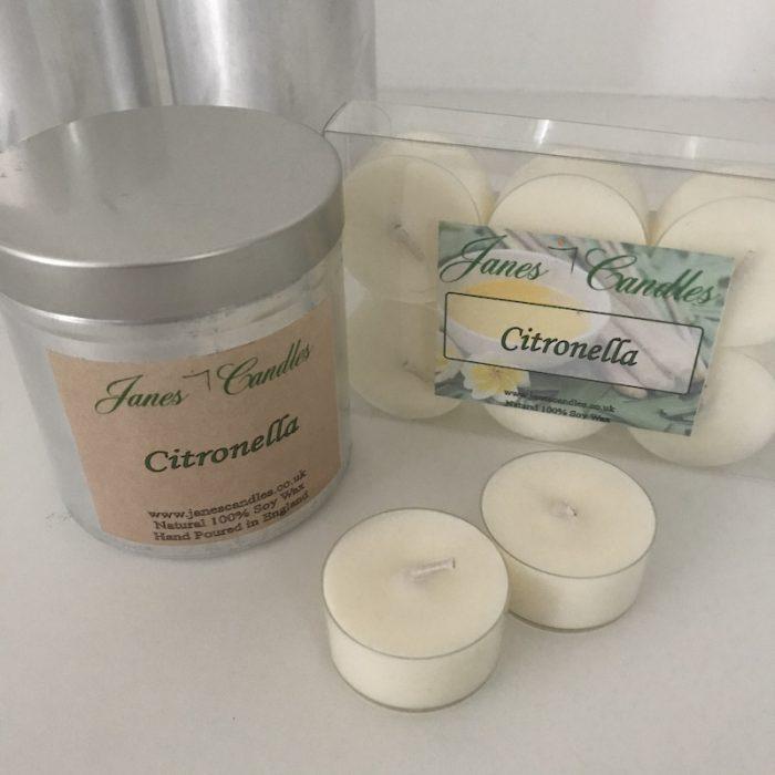 Citronella Candle