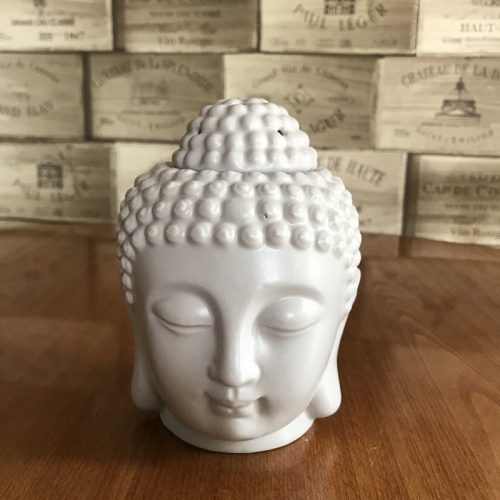 Grey Buddha Head Wax Melter
