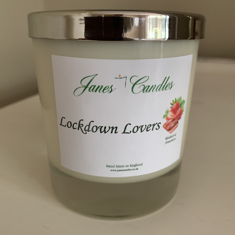 Personalised Candle Large